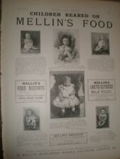 Children Reared on Mellin's Food advert 1892 ref AU