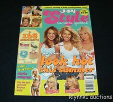J-14 Style Magazine Summer Special September 2005 Fashion makeup hair trends