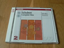 Beaux Arts Trio, Grumiaux Trio - Schubert : Complete Trios - 2CD Philips