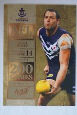 Fremantle Dockers 2012 AFL Stars 200 Games Milestone Football Card Antoni Grover
