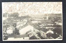 CARTOLINA CUNEO SOMMARIVA BOSCO PANORAMA RARA VIAGGIATA 1903 SUBALPINA ZZ