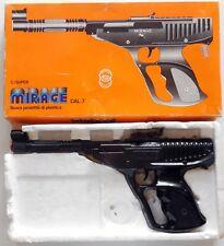 VINTAGE GUN PISTOLA GIOCATTOLO CONDOR MIRAGE CAL.7 FVM MADE IN ITALY 80s BOXED