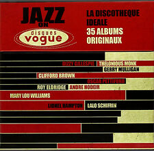 Jazz on Disques Vogue 35 ORIGINAL ALBUMS ON 20 CD'S ~ BRAND NEW SEALED BOX SET
