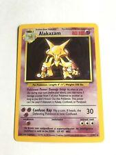Alakazam 1/102 Base Set Holo MP Pokemon Card 100000275