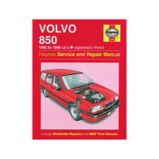 Volvo 850 2.0 2.3 2.5 Petrol 1992-96 (J to P Reg) Haynes Manual