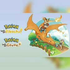 Pokemon Cloneing & trade evolution Service Lets Go Pikachu & Eevee