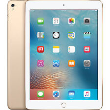 "Apple iPad Pro 9.7"" 32GB 12MP 5MP WiFi & Cellular 4G LTE  Gold"