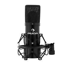 Professional USB CondensorCardioid Microphone PC Recording Studio Black Shock