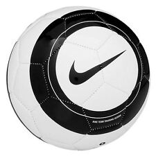 Nike Soccer Ball Size 4 Black White Aerow