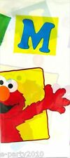 SESAME STREET Elmo Loves You PLASTIC TABLE COVER ~ 1st Birthday Party Supplies