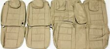 2005 - 2007 FORD 500 SEL MERCURY MONTEGO TAN LEATHER UPHOLSTERY SEAT COVER SET