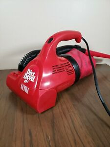 Dirt Devil by Royal Ultra Red Electric Hand Vac Handheld Vacuum Cleaner M08230C
