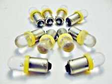 10 Yellow Bayonet Instrument Panel LED 1815 1895 Lamps Buick Old Cad Chev Ponti