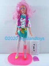 "Jem and the Holograms Hasbro 1986 12.5"" Doll Raya w/ Cassette Tape"