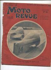 Moto Revue N°765 ; 5 novembre   1937  : présentation des 350 et 500 cmc au salon
