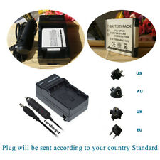NP-50 Battery + Charger for FUJIFILM X10 XF1  FinePix REAL 3D W3 Digital Camera