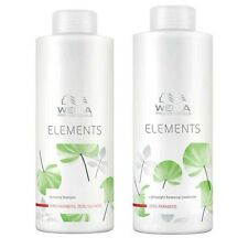 WELLA ELEMENTS ORGANIC MOISTURE SHAMPOO & CONDITIONER DUO 1000ml SULFATE FREE