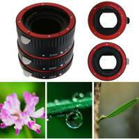 Auto Focus AF Macro Extension Tube Set Ring Mount Bayonet for CANON EF S Lens