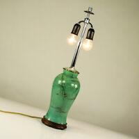 WMF Ikora Tisch Lampe Messing Leuchten Fuß Paul Haustein NKA Vintage 30er
