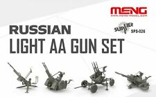 Meng Models Sps026 1:35 Russian Light Anti-Aircraft Gun Set