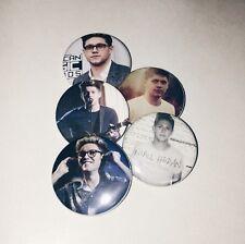 Set of 5 Niall Horan Pinback Buttons