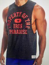 Men's Project Rock Sleeveless Property of Iron Paradise Do the Work Tank, XLarge