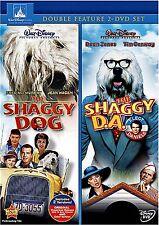 NEW 2DVD SET - DISNEY - THE SHAGGY DOG + SHAGGY D.A.  FRED MacMURRAY, TIM CONWAY