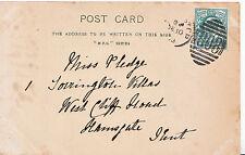 Genealogy Postcard - Family History - Pledge - Ramsgate - Kent 5169