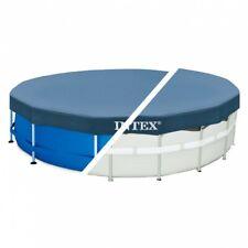Cobertor Intex piscina metálica metal & prisma frame 366 cm