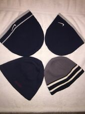 "Pre Owned Lot of Four Beanie Hats for Boys in Several Sizes ""Check Description""."