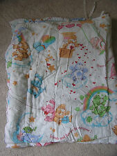 Vintage 1982 Care Bears Friends and Fun are for Everyone Sleeping Bag