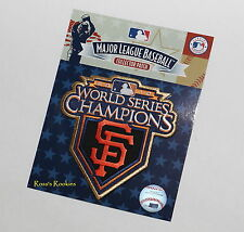 2010 WORLD SERIES CHAMPIONS PATCH - OFFICIAL LICENSED MLB JERSEY SLEEVE  PATCH
