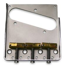 Callaham Vintage Bridge Assembly for Telecaster, Enhanced Saddles