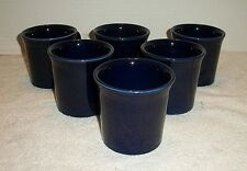 6 Fiestaware Fiesta Cobalt Blue Tom & Jerry Mugs