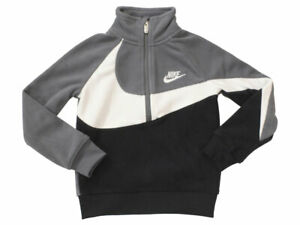 Nike Little Boy's Sherpa Half Zip Long Sleeve Sweatshirt