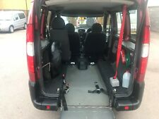 Fiat Doblo WHEELCHAIR ACCESSIBLE mobility disabled ramp access wav