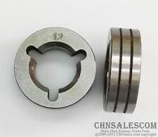Wire Feed Drive Roller Kunrled Groove 12mm 045 Mig Mag Miller Welder Aluminum