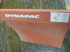Dynapac Ca15 Vibratory Compactor Asphalt Roller Parts Catalog Manual Book