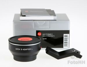 BRAND NEW LEICA S-ADAPTER-L // LEICA NUMBER : 16075 // USE S LENSES ON TL/CL/SL