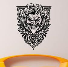 Joker Wall Vinyl Decals Super Hero Sticker DC Comics Art Removable Decor (1jbat)