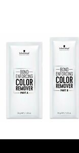 Schwarzkopf Bond Enforcing Color Remover   you choose quantity