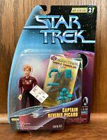 Captain Beverly Picard Star Trek Warp Factor Series 2 Figure New Playmates 1997