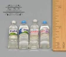 1:6 A Set of Dollhouse Miniature Bottle Water 4 PC D103