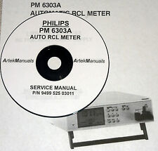 Philips PM6303A RCL METER  SERVICE MANUAL