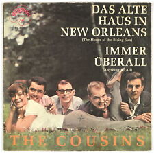 THE COUSINS - Das Alte Haus In New Orleans - 1964 Germany SP 45 tours