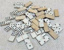 Antique Hand Made Double Nine Wooden Dominoes Game