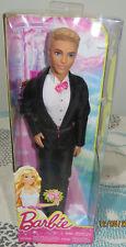 NRFB Poupée doll KEN Barbie 2013 marié mariage wedding fairytale bride BCP31