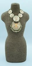 Necklace Chain Jewelry Holder Display Bust Stand Retail Shop Mannequin 40x20cm