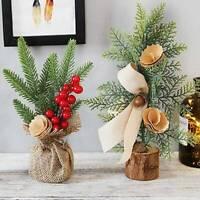 Mini Christmas Tree Christmas Decor Desktop Window Potted Plant Scene Decor Best
