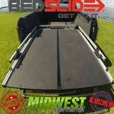 "Bedslide S Split Deck Sliding Bed Drawer With Trax Rail Kit For Ford 6.9"" Bed"
